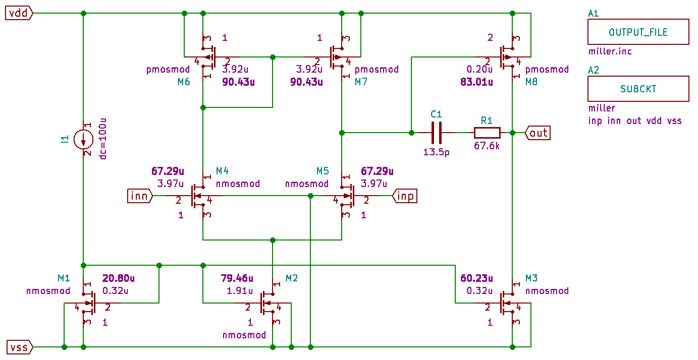 1051 Using The Pyopuslib Library In Eeschema Pyopus 09 And Here Is New Ltspice Schematic Followed By A Plot With V Images Kicad Miller